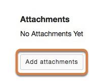 Add attachments