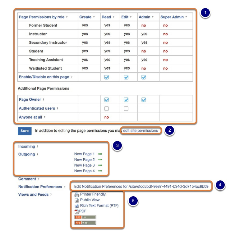 View and understand settings and preferences