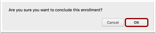 Confirm Enrollment
