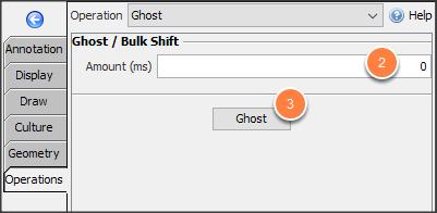 Create a ghost horizon