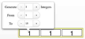 Random Number Generator: