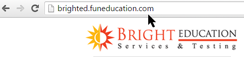 Return to our homepage at www.BrightEducation.com