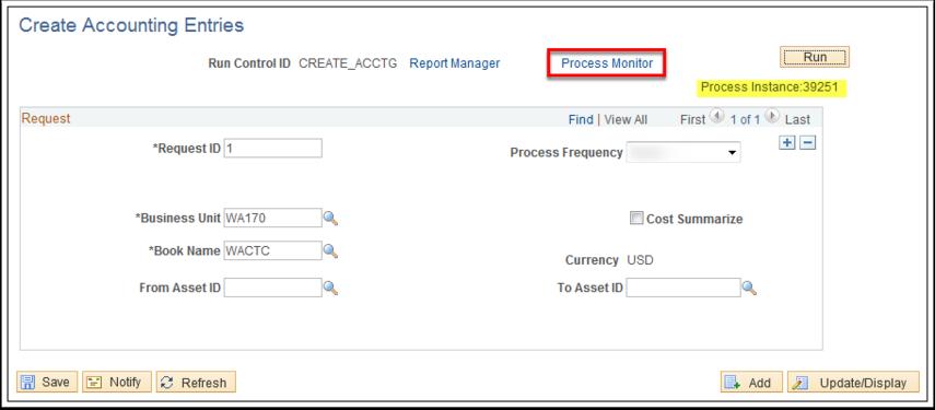 Create Accounting Entries