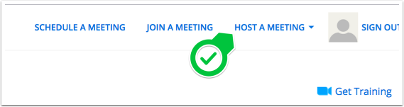 Meetings Home Page