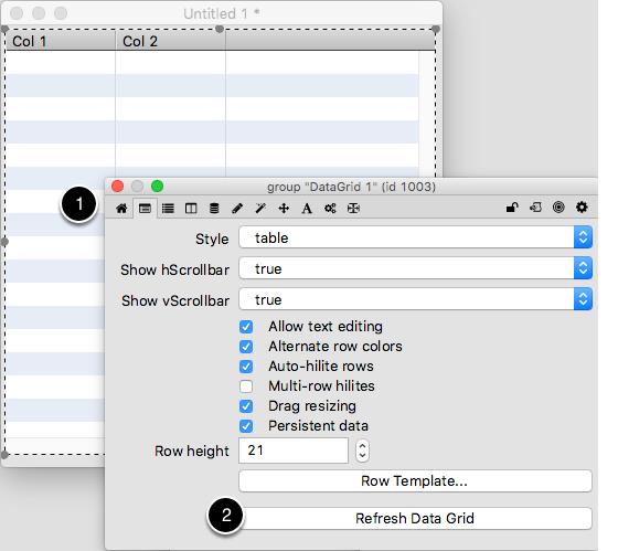 Refresh Data Grid