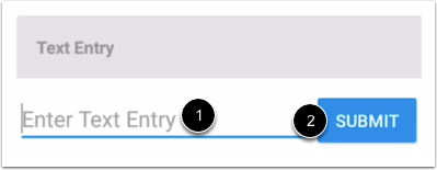 Create Text Entry