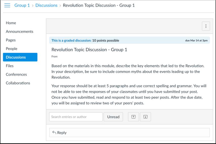 Diskusjon i Studentvisning