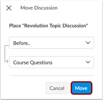 Move Discussion