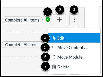 Manage Module Settings