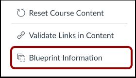 Open Blueprint Information
