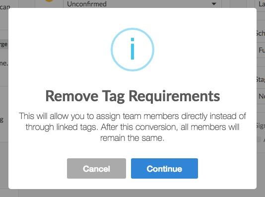 remove tag