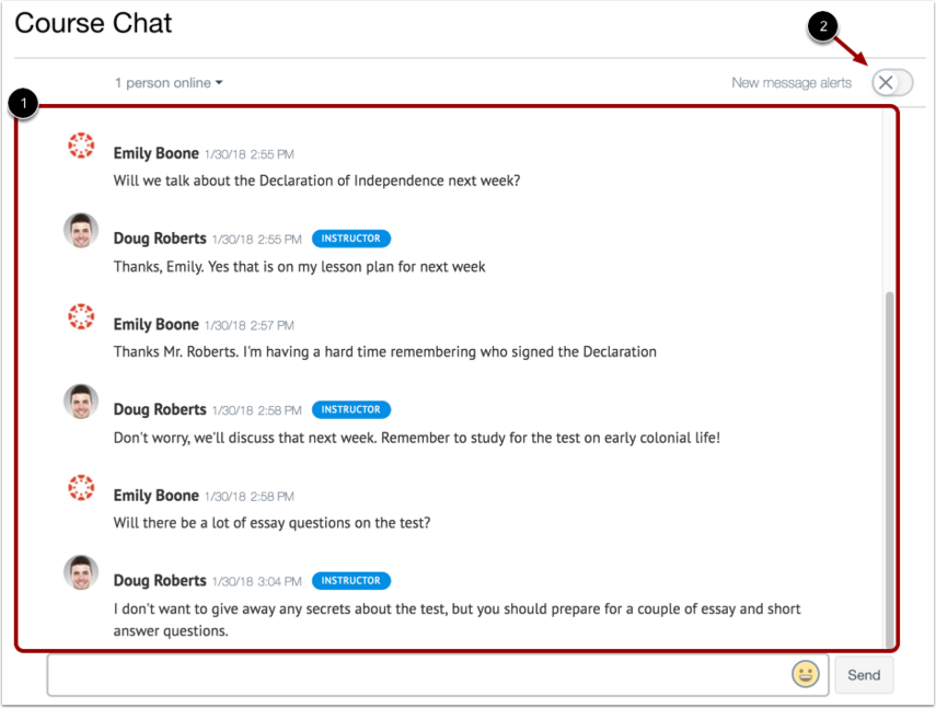 View Chat