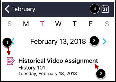 View Daily Calendar