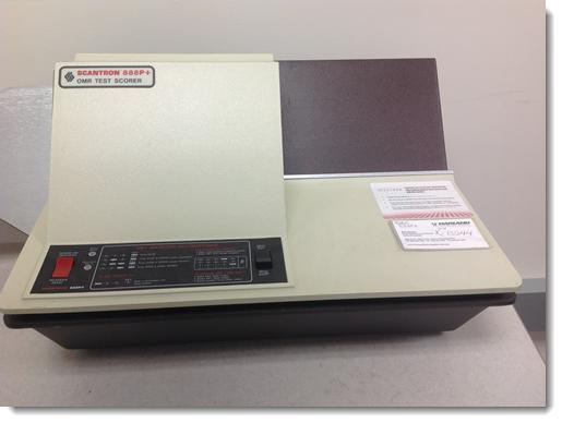 888P+ Scantron scanner