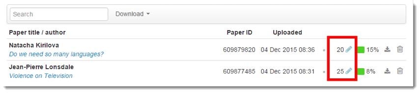Assignment Inbox displays grades