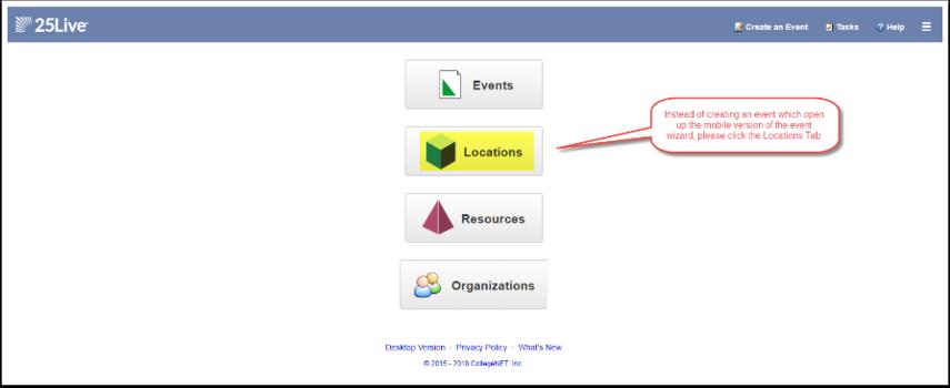 Home page og Mobile Version