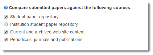 compare submitted papers