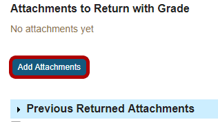 Return an attachment.