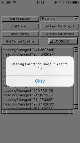 Getting the Calibration Timeout Value