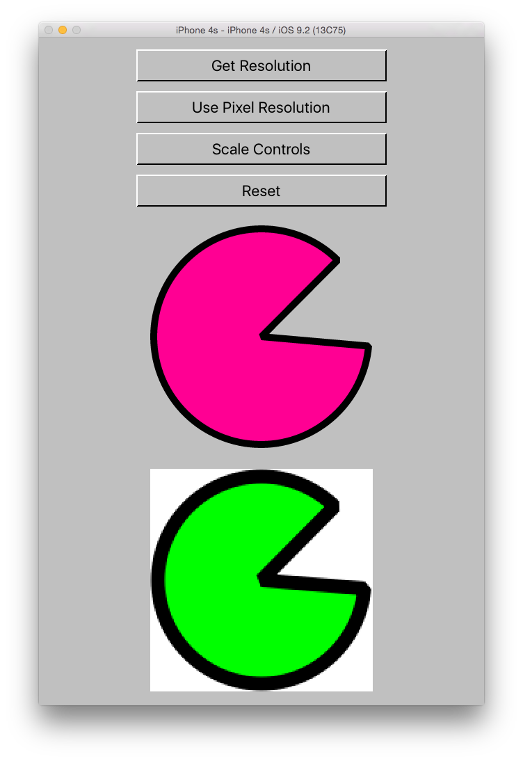Scaling the Controls