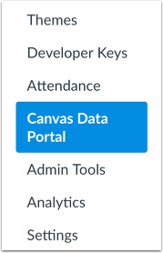 Open Canvas Data Portal