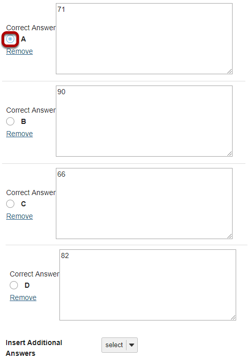 Enter the answer choices (for multiple choice).