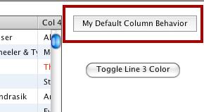 The Default Custom Column Behavior