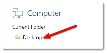 Desktop is selected.