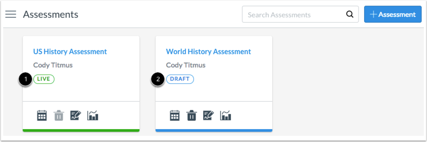View Open Assessments