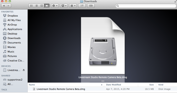 Using the Remote Desktop Client for macOS – Livestream Installing the Remote Client
