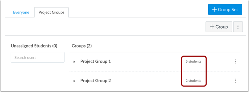 View Groups