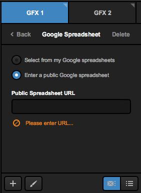 Integrating Google Spreadsheets – Livestream