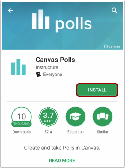 How Do I Download The Polls App On My Android D