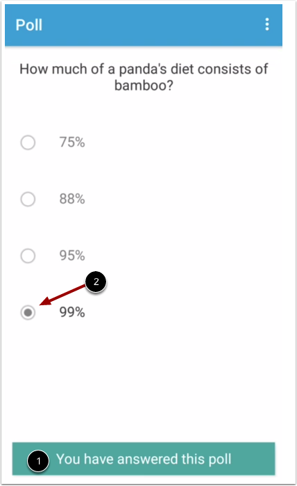 Confirm Submit Poll