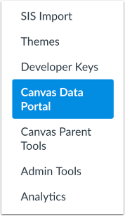 Open Canvas Data Portal