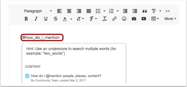 """Use an underscore """"_"""" as a space to search for names or titles with multiple words"""