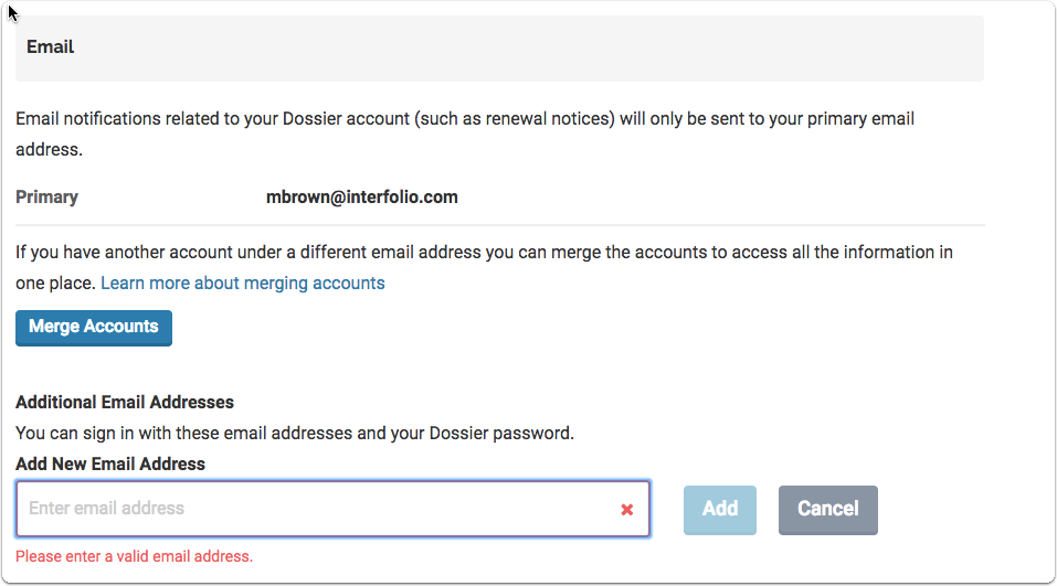 how to add a gmail address to existing account