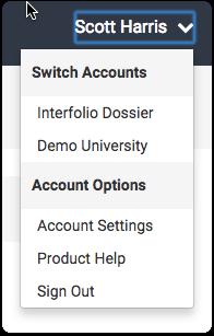Navigate to Account Settings