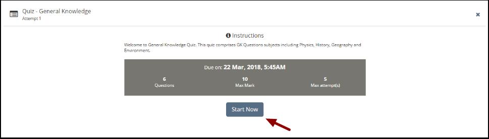 Quiz Taking – Teamie Help Center