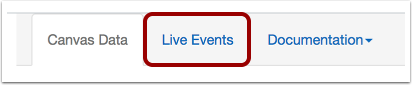 View Live Events