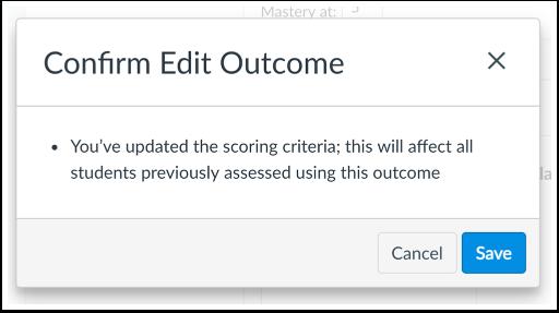 View Scoring Edits Confirmation