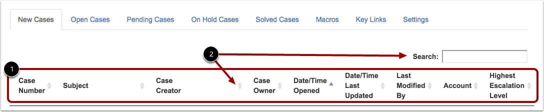 View New Cases