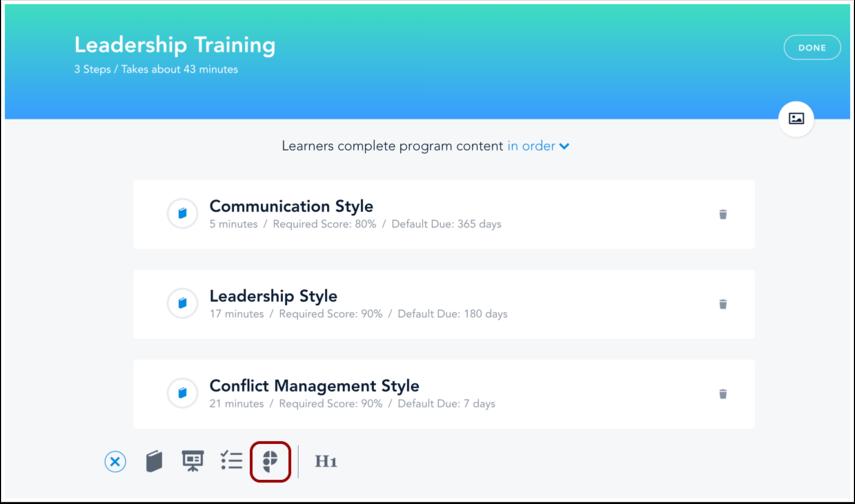 Click Practice Icon