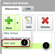 Add a User to a Group