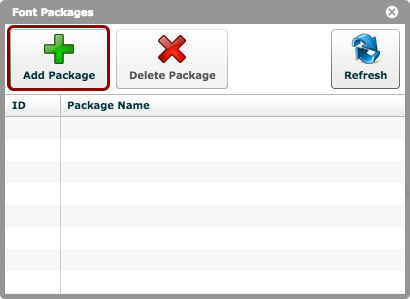 Click 'Add Package'
