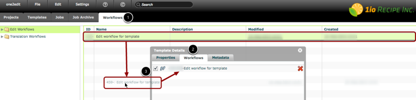 Step 5: Select the workflow(s) to use with this Job Template