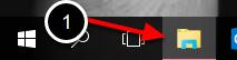Vælg stifinder-ikonet på din proceslinie
