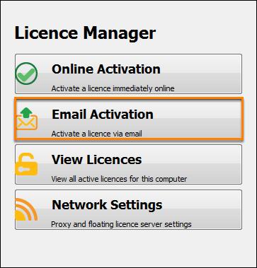 Offline licence request