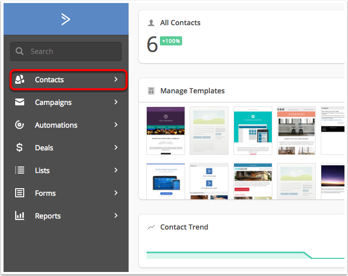 How do I export all contacts? – ActiveCampaign Help Center