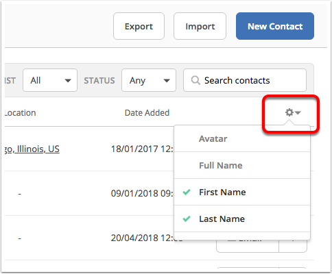 An overview of Contacts – ActiveCampaign Help Center
